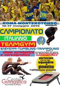 TEAMGYM Camp.Italiano Monterotondo