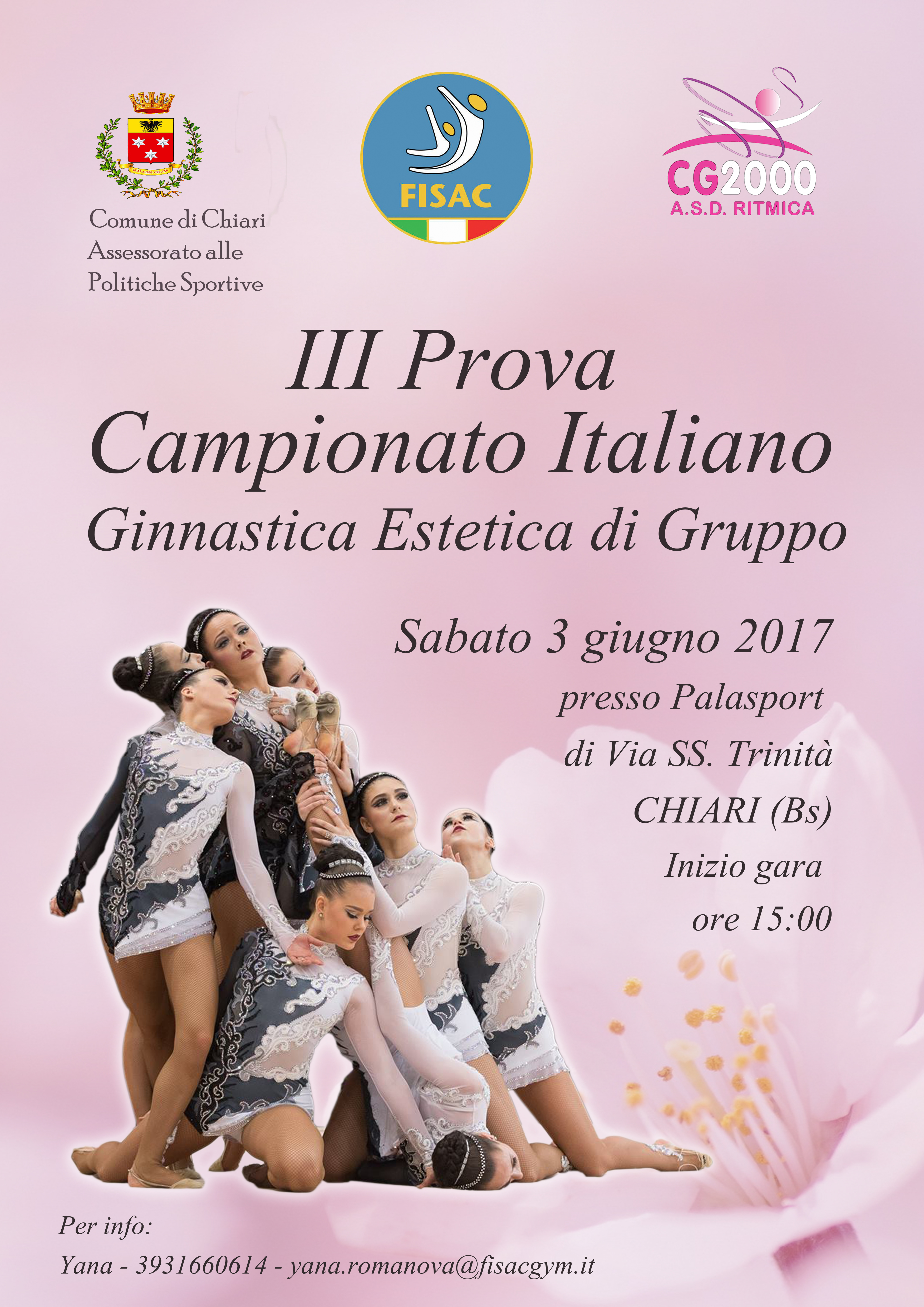Estetica2017 III Prova Campionato Nazionale- Chiari (1)